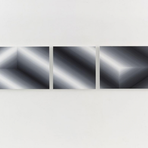 Untitled # 259 / Oilpaint on canvas / 60 x 255 cm triptych / 2014