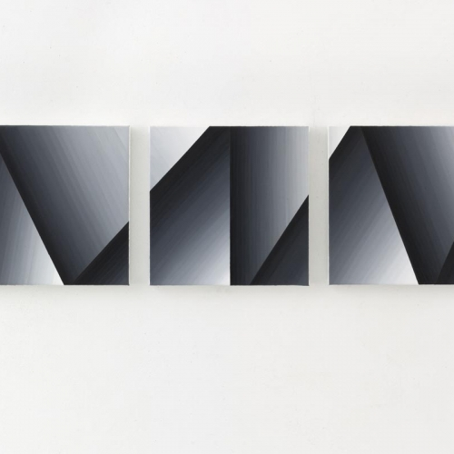 Untitled # 260 / Oilpaint on canvas / 60 x 255 cm triptych / 2014