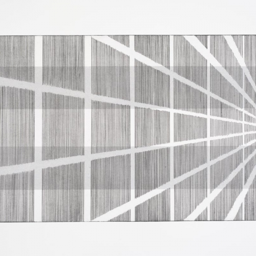Untitled # 0142 / Etching on paper / 50 x 70 cm / 2012