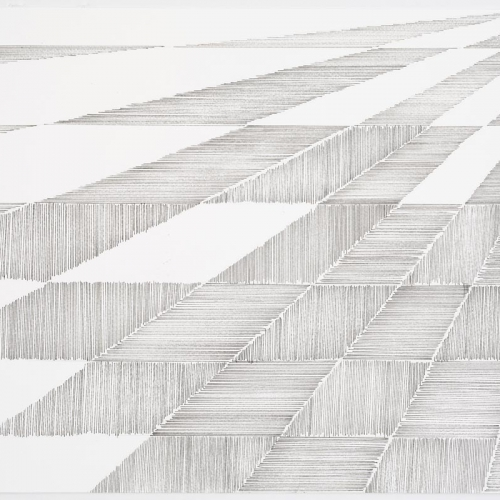 Untitled # 0154a / Drawing / 35 x 51 cm / 2012