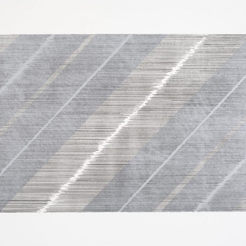 Untitled # 0162 / Etching on paper / 50 x 70 cm / 2012