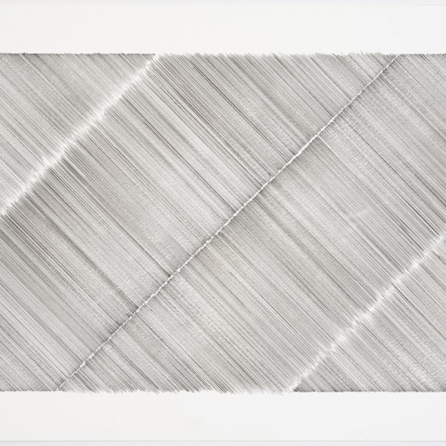 Untitled # 0166 / Drawing / 35 x 51 cm / 2012